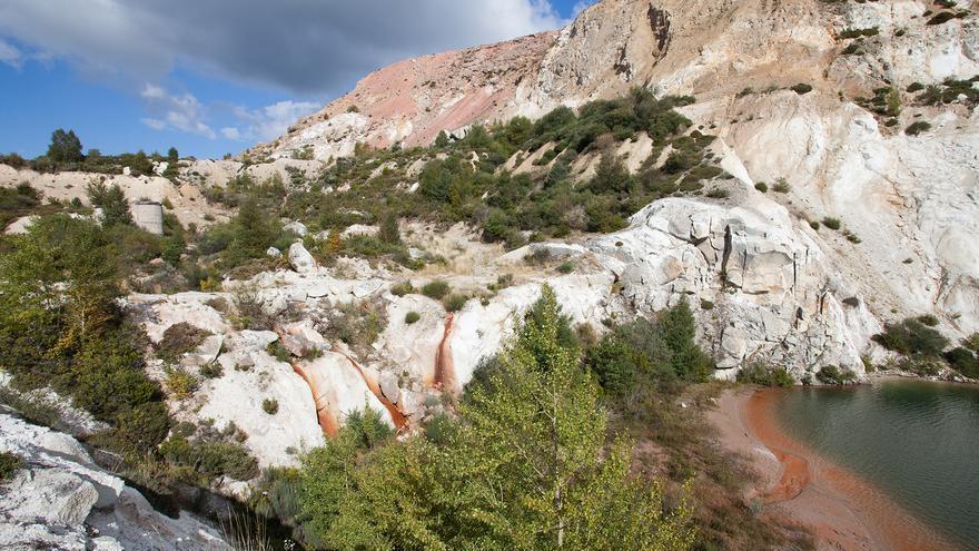 Explotación minera de Penouta (Viana do Bolo)