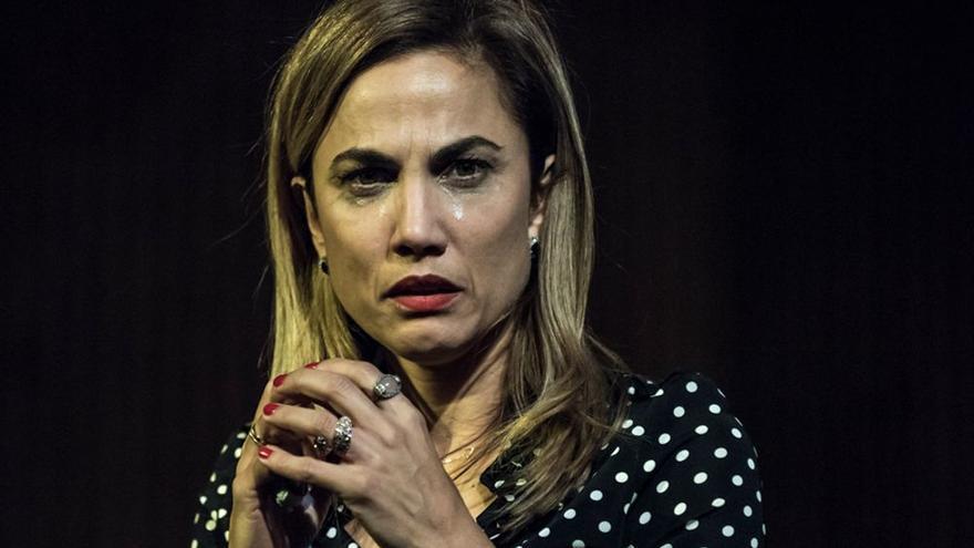 Toñi Acosta, actriz tinerfeña que participa en la obra teatral 'Placeres íntimos'