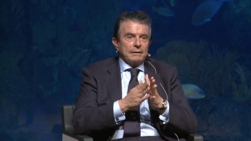 Antonio Catalán, empresario hotelero en unas jornadas del Foro Global Sur