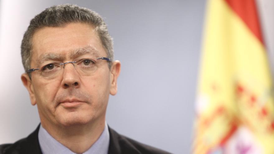 El ministro de Justicia anunció la semana pasada que introduciría cambios en la 'ley de tasas judiciales'