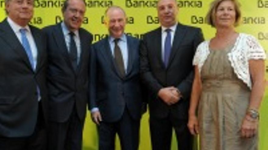 Romero Mur, Suárez del Toro, Rato, Ramírez y Ana Guerra.