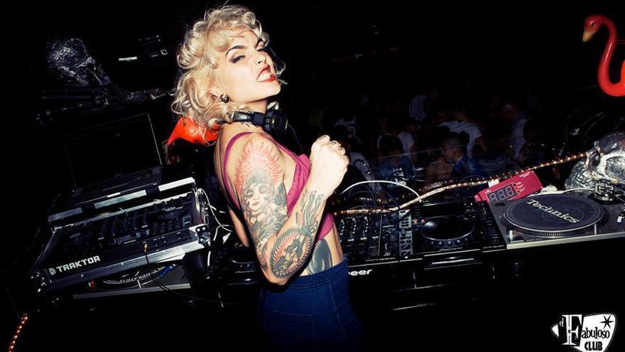 La DJ granadina Vinila Von Bismark