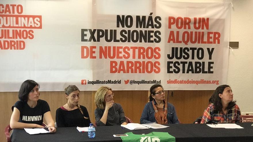 El Sindicato de Inquilinos de Madrid se ha presentado en el Espacio Vecinal Arganzuela