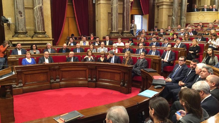 """Iceta (PSC) afea a Forcadell no separar """"sus ideas políticas"""" de su papel institucional"""