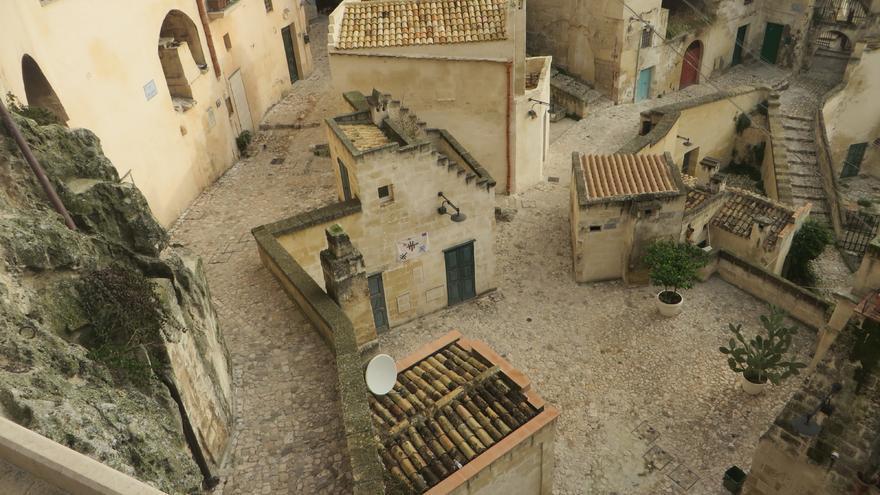 Calles del casco histórico de Matera. Patrizia Peruzzini