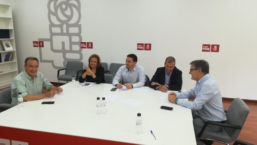 Este viernes se ha reunido la Comisión Negociadora del PSOE en Aragón