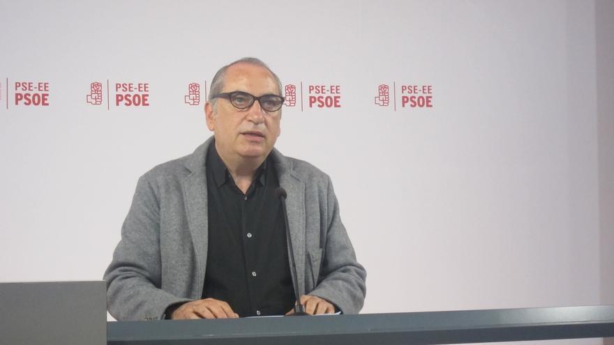 """PSE dice que la renuncia del Gobierno vasco a pedir cárcel en el caso De Miguel """"ahonda en el descrédito de la política"""""""