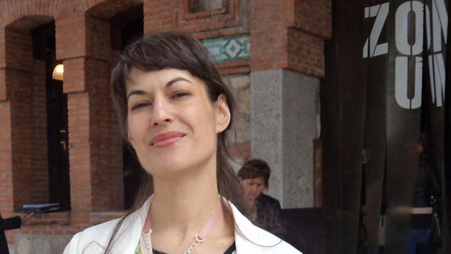 La diseñadora Elena Corchero (Foto: Hoja De Router)