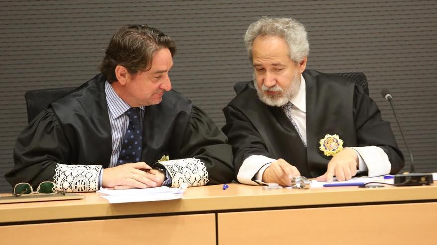 Salvador Alba y Emilio Moya. (ALEJANDRO RAMOS)