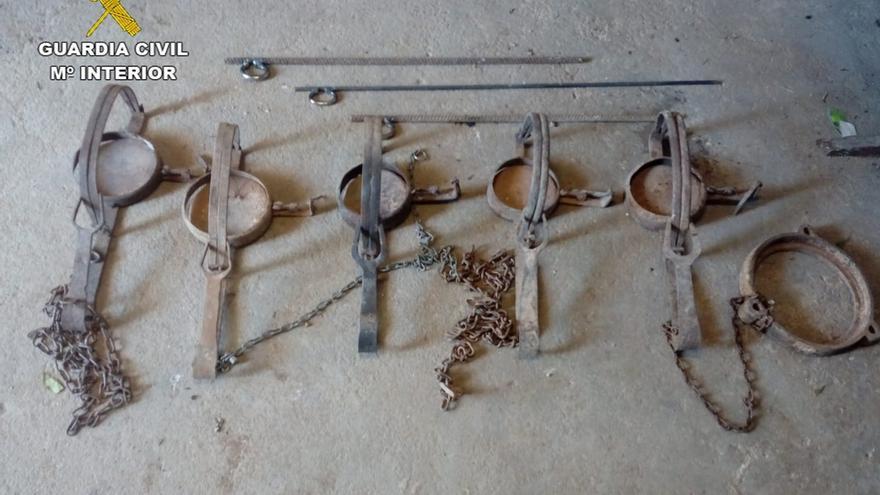 La Guardia Civil detiene a 21 personas por utilizar ilegalmente cebos envenenados y otros medios prohibidos de caza