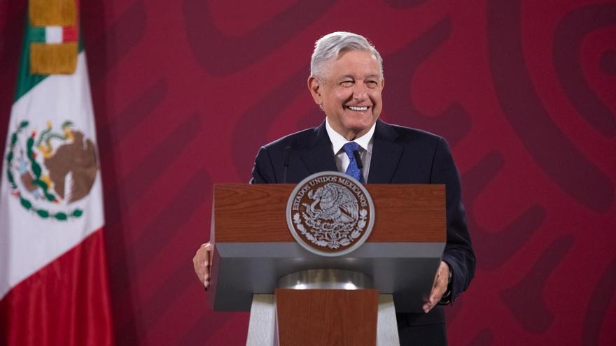 """""""No va a ser aburrido"""": Andrés Manuel López Obrador convocó a votar en el referendo de marzo de 2022, donde la pregunta será personal, si él debe seguir siendo presidente o renunciar,  y no conceptual como la del domingo pasado."""