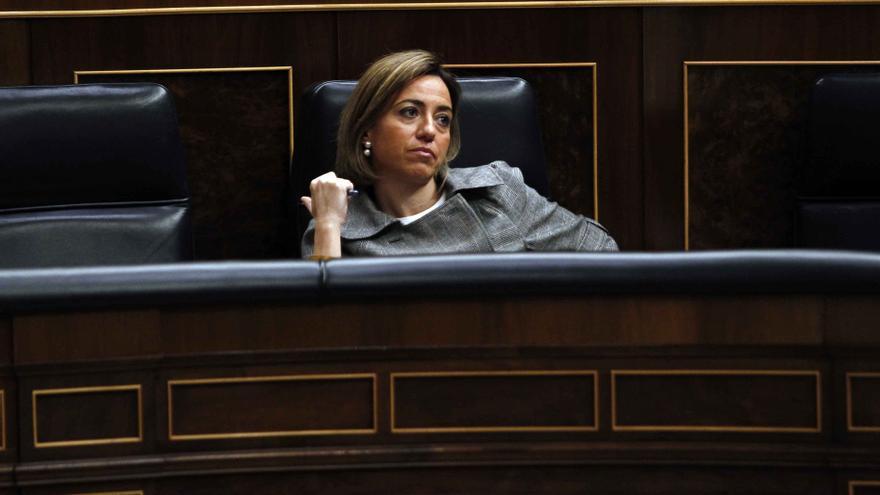 Chacón opta por no participar en las votaciones de los textos de CiU e ICV sobre la consulta catalana