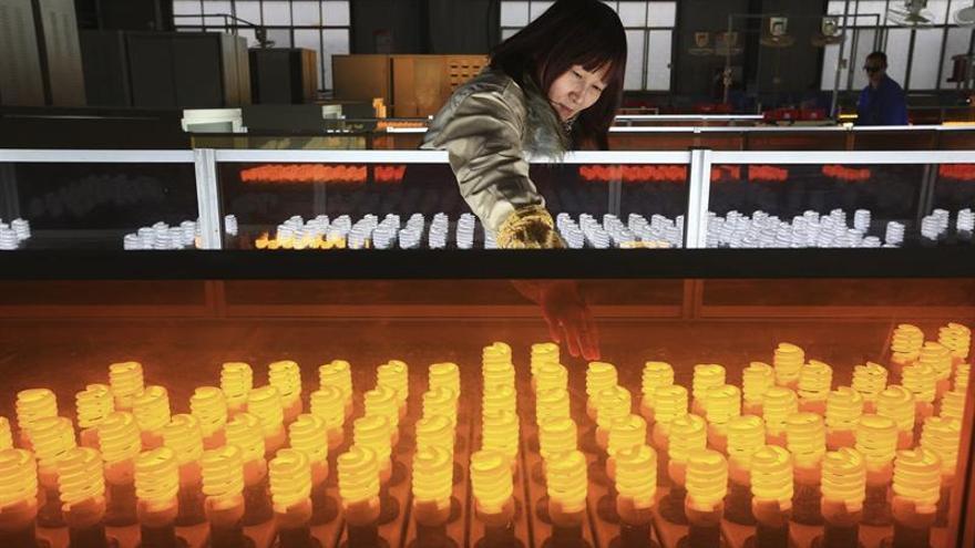 La actividad industrial china registra su nivel más alto en dos años