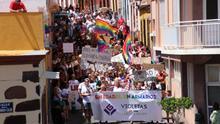 Marcha del II Orgullo LGTBi+ este sábado en Tazacorte.