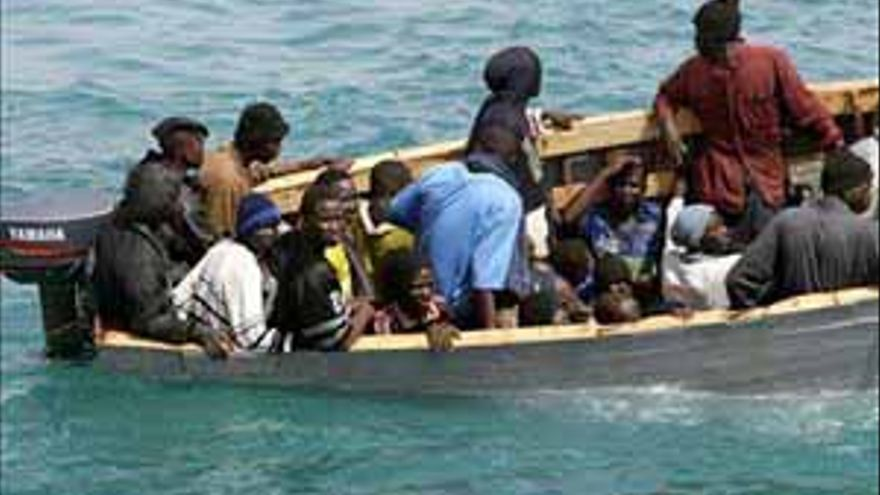 Imagen de archivo de una patera que arribó a las Islas.