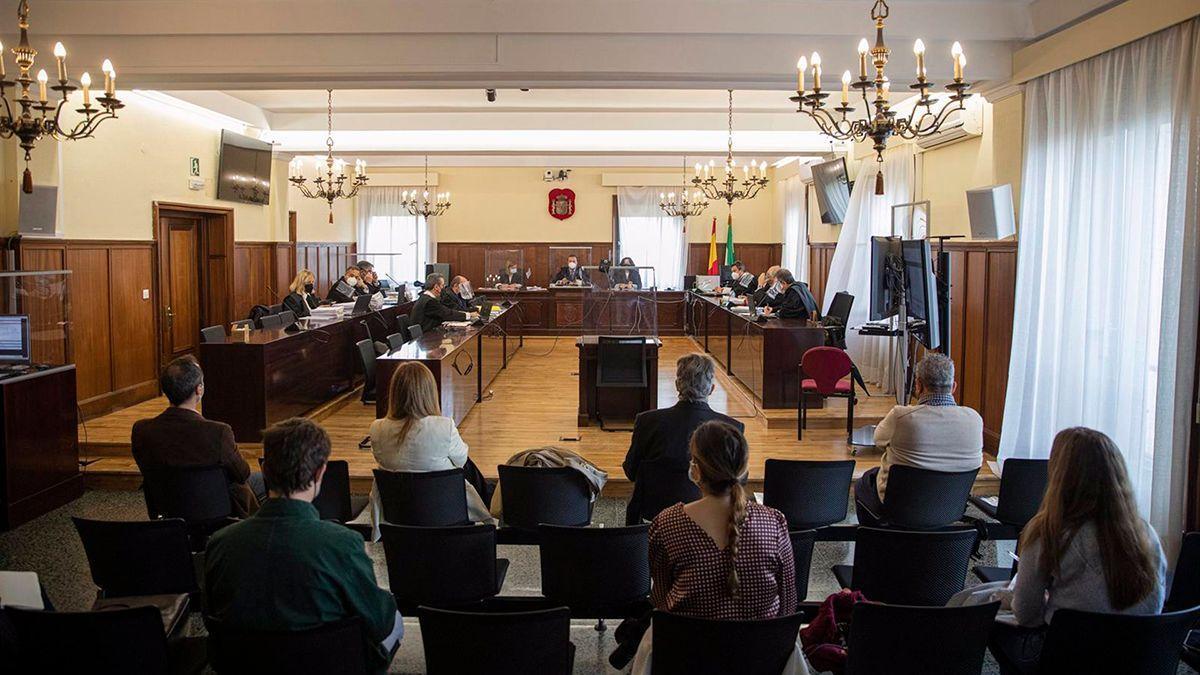 Una sesión del juicio de Invercaria.