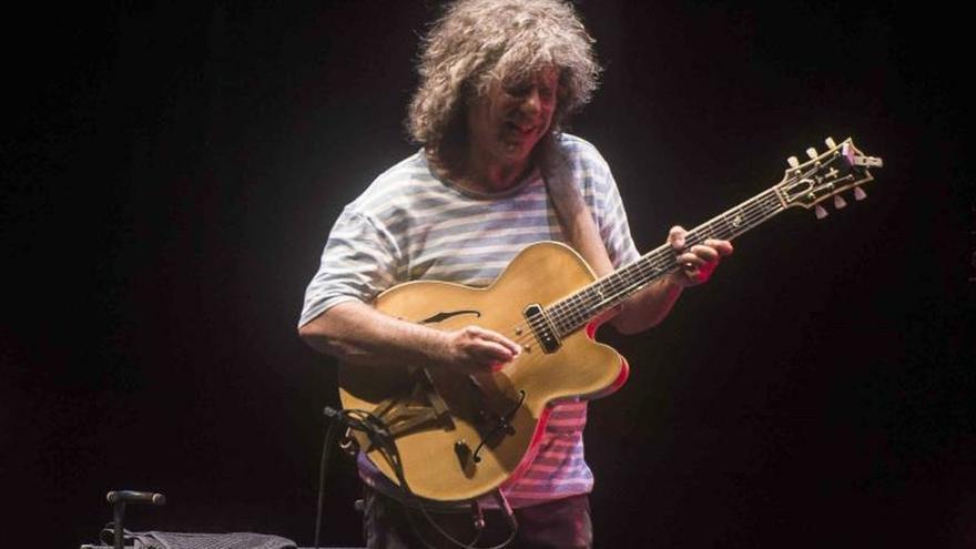 El guitarrista estadounidense Pat Metheny.
