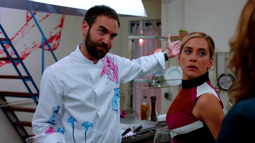 Jon Plazaola y María León en Allí Abajo
