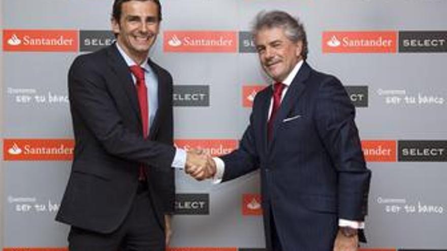 Directorgeneral responsable de banca comercial España de Santander, Enrique Garc