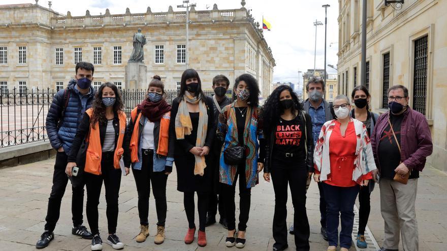 Una misión catalana visita Colombia para verificar la situación tras las protestas