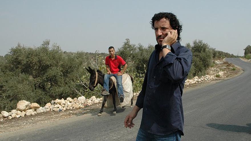 Ali Abu Awwad, en la coordinación del Día Mundial de la Paz y el Día de la Resistencia Social en Nabi Saleh