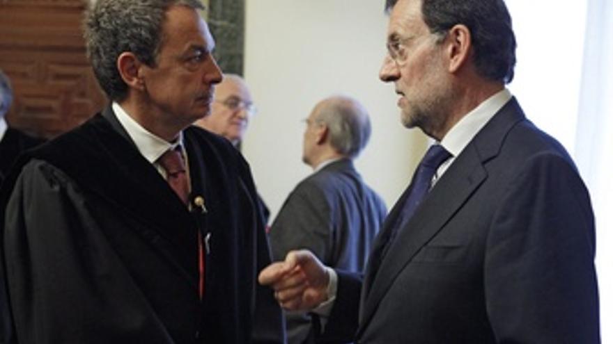Mariano Rajoy Y José Luis Rodríguez Zapatero