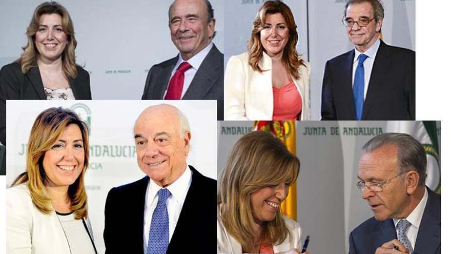 Susana Díaz convenios IBEX 35