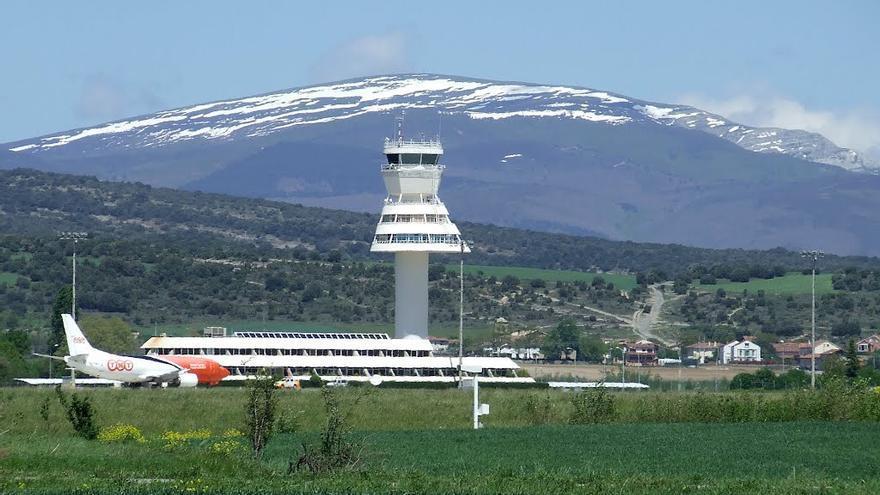 Imagen del aeropuerto de Foronda./eldiarionorte.es