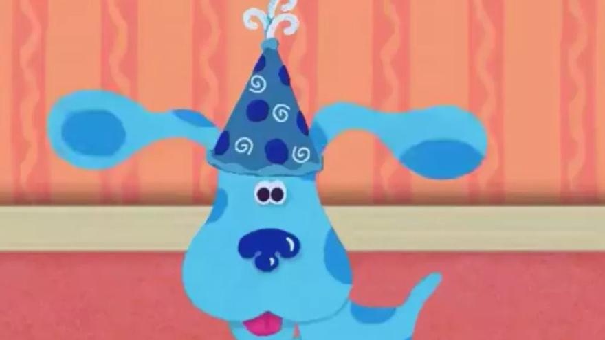 Blue's Clues (Las pistas de Blue) fue creado para estimular el aprendizaje mediante repetición.