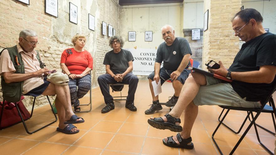 Carlos, María José, Diego, Pepe y José Luis son pensionistas y cuentan su historia