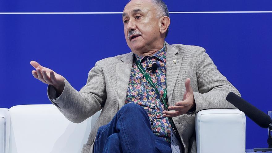 Álvarez (UGT) confía en que la UE apruebe el plan de recuperación de España