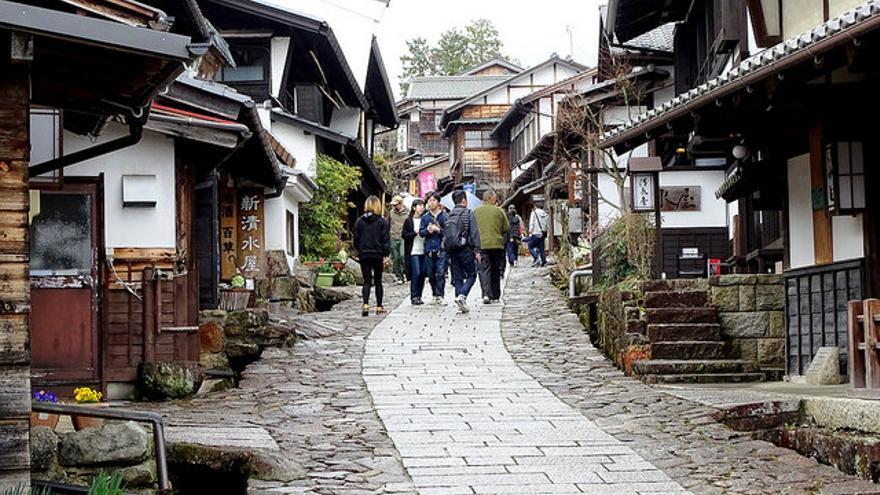Calles de Tsumago. Balazs Szanto