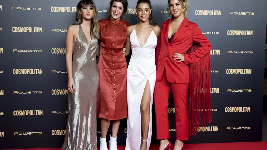 Aitana, Amaia, Ana Guerra y Miriam en el evento de Cosmopolitan.