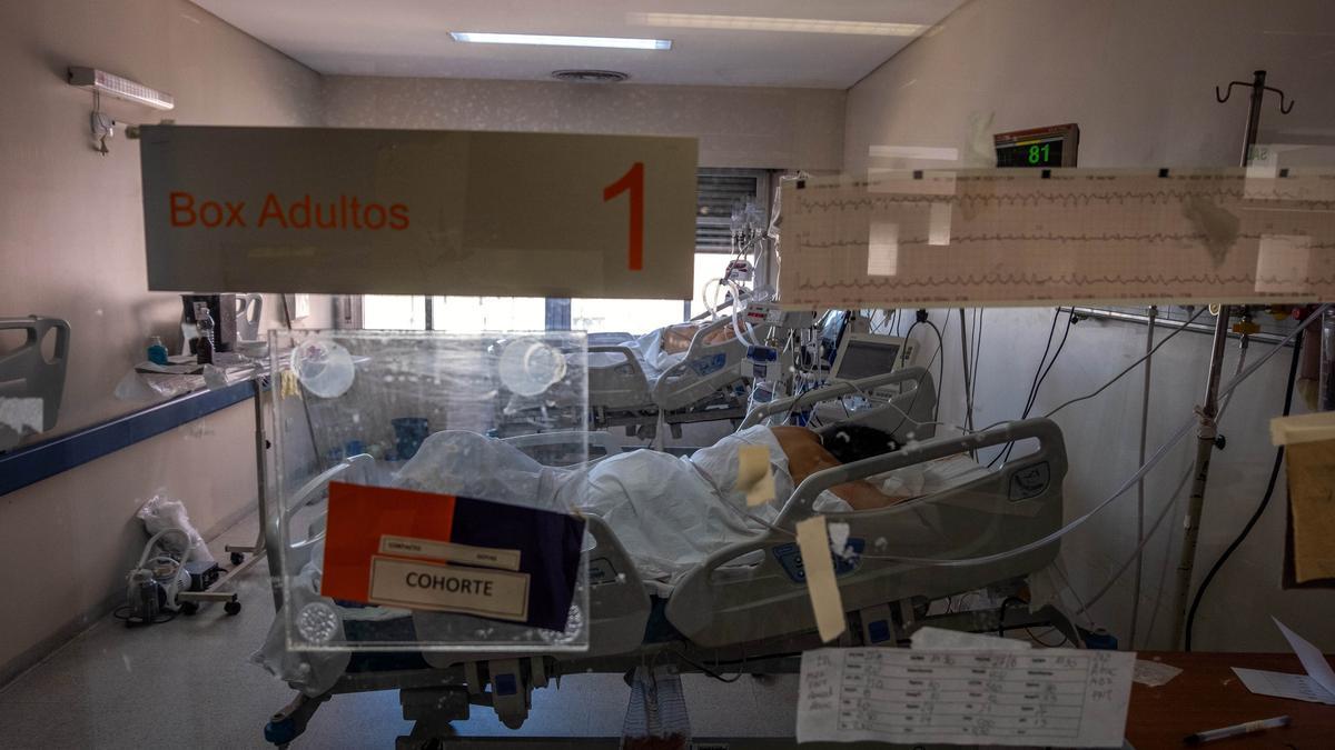 Después de muchos días de crecimiento sostenido, bajó la ocupación de camas de terapia intensiva