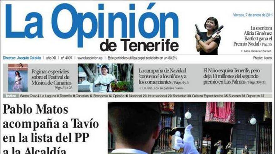 De las portadas del día (07/01/2011) #5