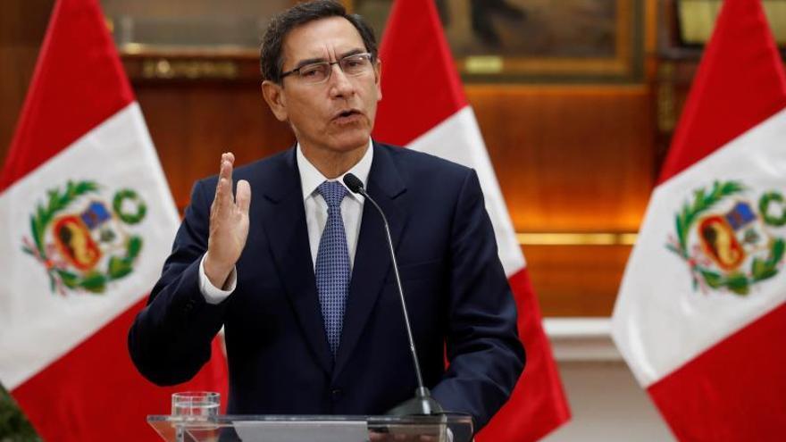 En la imagen, el presidente de Perú, Martín Vizcarra.