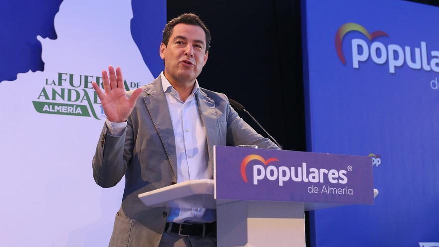Juanma Moreno interviene en la clausura del XIV Congreso Provincial del PP de Almería