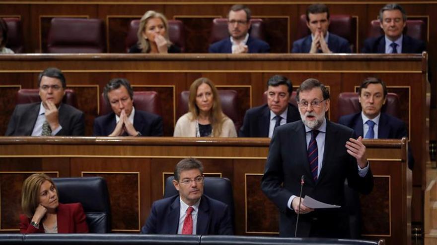 Rajoy responderá sobre el 155 y la Constitución en el último control de 2017