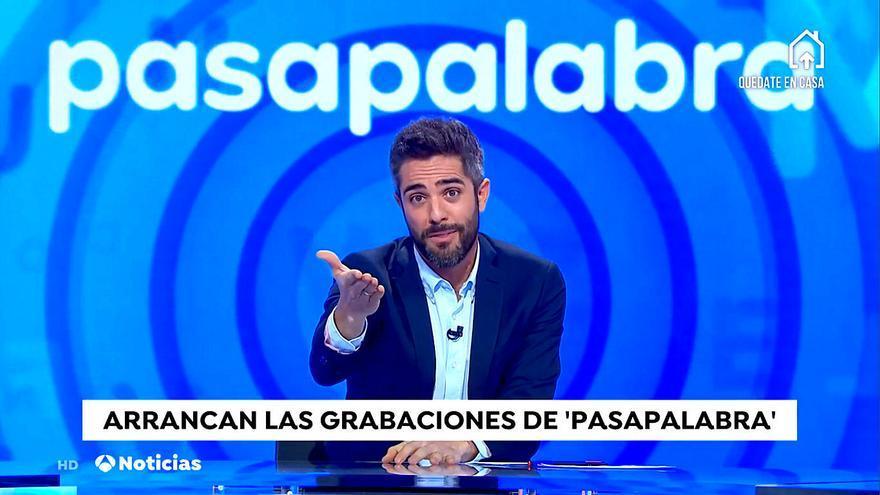 Primeras imágenes de las grabaciones de 'Pasapalabra' ante su regreso en Antena 3