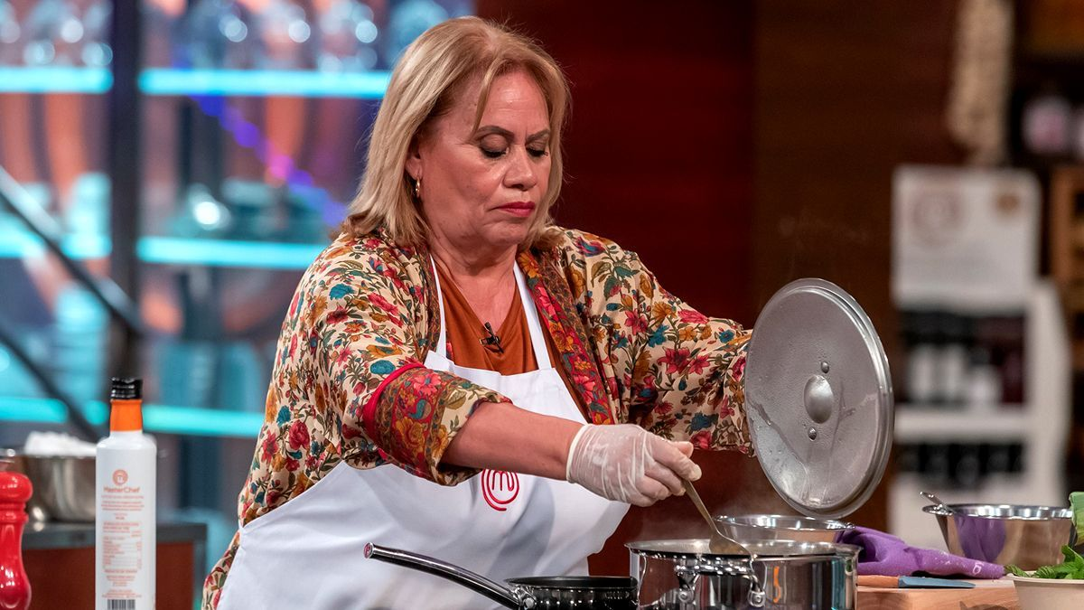 Carmina Barrios en 'MasterChef Celebrity 6'