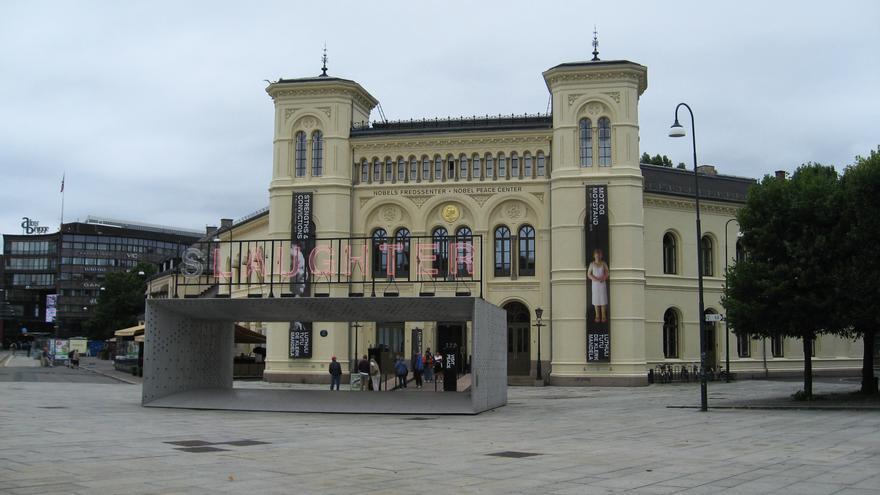 Centro Nobel de la Paz en Oslo / C.C.