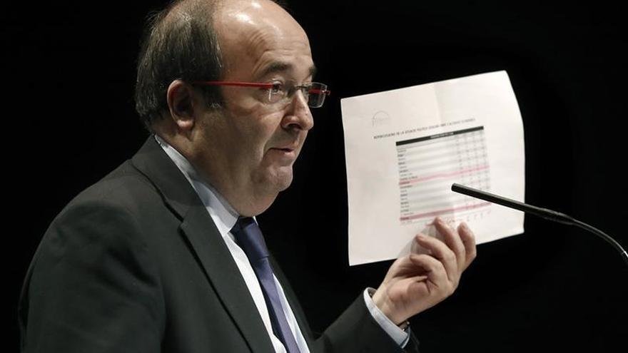 El candidato del PSC, Miquel Iceta.