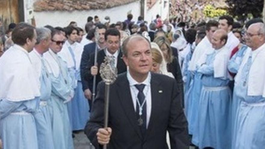 Monago, en el acto de la Virgen de la Montaña / GobEx