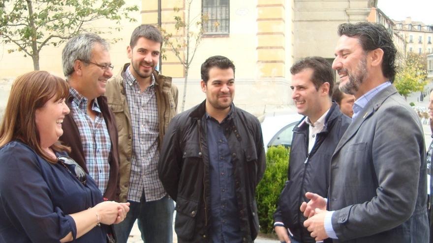 """Tudanca (PSOE), ante el auge de Podemos en los sondeos: """"Las encuestas no han dado ni una en los diez últimos años"""""""
