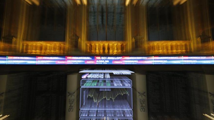 La Bolsa española sube un 0,92 por ciento y se queda a las puertas de los 9.000 puntos