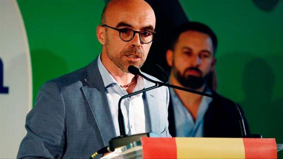 L'eurodiputat de Vox Jorge Buxadé.