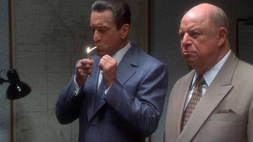 Robert de Niro y Don Rickles en 'Casino' de Scorsese.