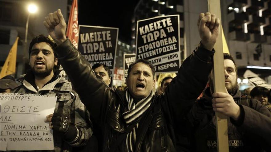 Devolver la dignidad a los indocumentados en Grecia, prioridad del nuevo Gobierno
