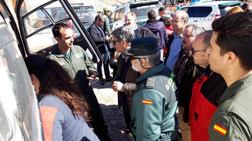 Siete unidades específicas de la Guardia Civil trabajan en Aragón en rescates de montaña