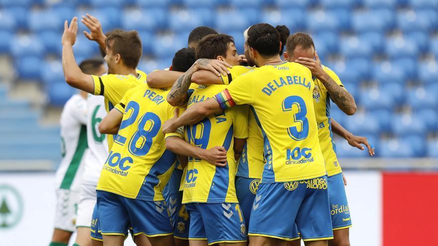 La UD Las Palmas recupera a Pedri y pierde a Mantovani ante la Ponferradina